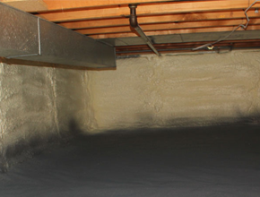 crawl space spray insulation for Oregon